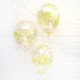 Confetti balloon decoration kit with custom mixes for weddings, birthday parties, hen parties and baby showers
