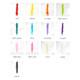 Tassel tail colour chart