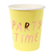 Pastel Mix Caption cups for birthday parties, tea parties and hen dos