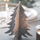 Grey felt Christmas tree decoration for your home