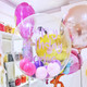 Bespoke Bubble balloon filled with balloons makes a wonderful gift and decoration for a birthday party, wedding or celebration