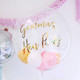 Bespoke Bubble balloon filled with balloons makes a wonderful gift and decoration for a hen party or bridal shower
