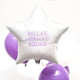 Personalised hen party balloon decoration and gift for the bride to be