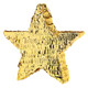 Gold Star Party Piñata Decoration for Hen Parties and Birthday Parties