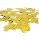Metallic gold glitter confetti for weddings, hen parties, Christmas and new years eve