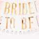 Hen Party Pink and Gold Bride To Be Bunting Decoration