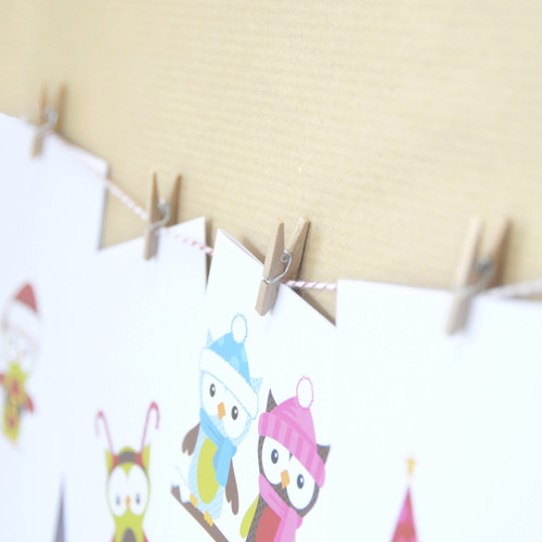 Christmas Card Hanging Kit