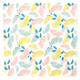 Floral Party Napkins in a Stylish Flower Design Pattern