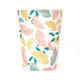 Floral Party Cups in a Stylish Flower Design Pattern