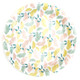 Floral Party Plates in a Stylish Flower Design Pattern