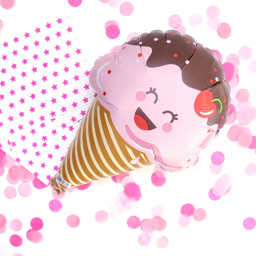 Ice Cream Party Balloon Decoration