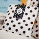 Black Polka Dot Paper Party Bags