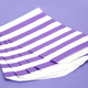 Purple Stripe Paper Party Bags