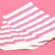 Pink Stripe Paper Party Bags