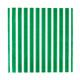 Green Stripe Paper Party Napkins