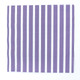 Purple Stripe Paper Party Napkins