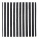 Black Stripe Paper Party Napkins