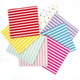 Stylish Striped Paper Party Napkins