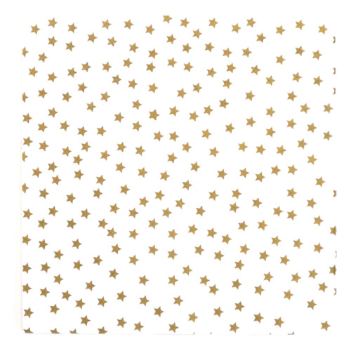 Gold Star Paper Party Napkins