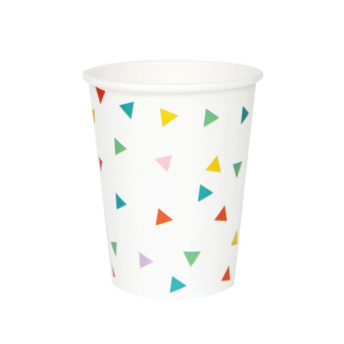Rainbow Triangle Paper Party Cups