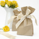 Tall plain brown kraft paper bags for wedding favours, gifts or birthday party goody bags