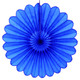 Dark Blue Deluxe Tissue Paper Fan Decoration for Birthday Parties, Weddings, Baby Showers and Hen Dos