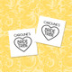 Personalised Bride Tribe Temporary Tattoos For Hen Dos