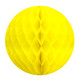 Yellow Tissue Paper Honeycomb Ball Pom Pom Decoration