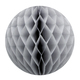 Grey Tissue Paper Honeycomb Ball Pom Pom Decoration