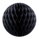 Black Tissue Paper Honeycomb Ball Pom Pom Decoration