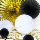 Gatsby gold black, white party decorations for 1920s themed parties