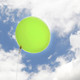 Big light green balloon party decoration for birthdays, weddings, photo booth backdrops, anniversaries, baby showers, hen parties.