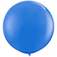 Giant blue balloon party decoration for birthdays, weddings, photo booth backdrops, anniversaries, baby showers, hen parties.