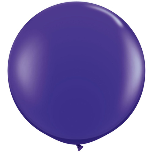 Giant purple balloon party decoration for birthdays, weddings, photo booth backdrops, anniversaries, baby showers, hen parties.