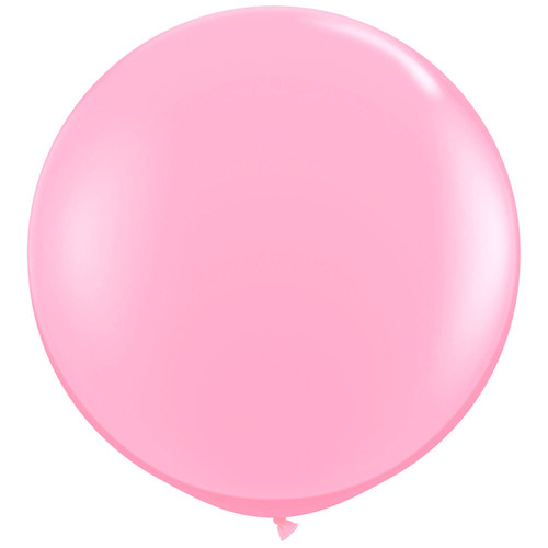 Big light pink balloon party decoration for birthdays, weddings, photo booth backdrops, anniversaries, baby showers, hen parties.