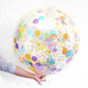 Giant confetti balloon party decoration for birthdays, weddings, photo booth backdrops, anniversaries, baby showers, hen parties