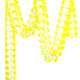 Yellow Tissue Paper Garland Decoration for Birthday Parties, Weddings, Baby Showers and Hen Parties