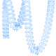 Light Blue Tissue Paper Garland Decoration for Birthday Parties, Weddings, Baby Showers and Hen Parties