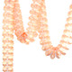 Peach Tissue Paper Garland Decoration for Birthday Parties, Weddings, Baby Showers and Hen Parties