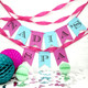 Personalised Birthday Party Bunting Decoration
