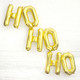 Ho ho ho Metallic Christmas Balloon Decorations