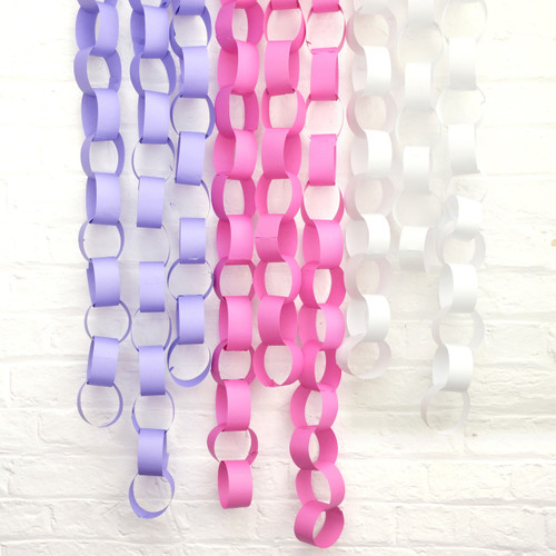 Paper Chain party decorations for Christmas, weddings, photo booth backdrops and birthday parties