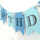 Personalised Party Decoration for Baby Showers and Christenings in Custom Colours
