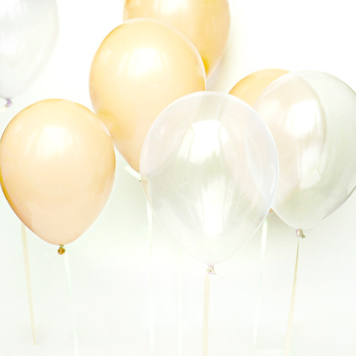 Blush Balloon Collection for weddings, birthday parties, baby showers, christenings and stylish hen parties
