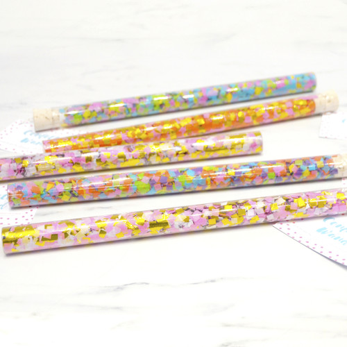 Fun and sparkly wands for magical birthday parties