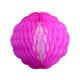 Pink Tissue Paper Honeycomb Pom Pom Decoration
