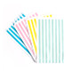 Premium quality and stylish pastel rainbow paper party bags for childrens birthdays, wedding favours and sweets tables