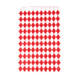 Stylish red diamond geometric style paper party bags for childrens birthday parties, wedding favours, hen parties and baby showers