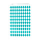 Stylish teal diamond geometric paper party bags for childrens birthday parties, wedding favours, baby showers and hen parties