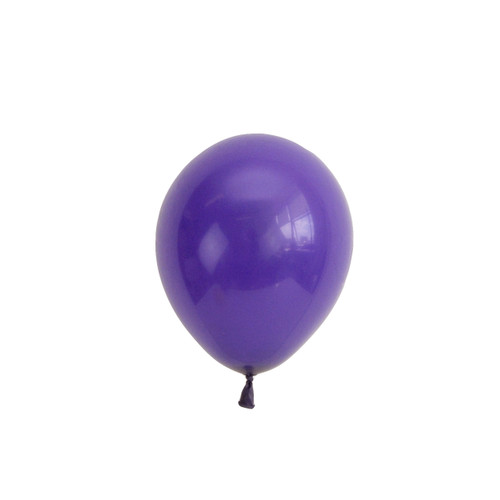 Purple mini balloons for childrens birthday parties, balloon arches, dessert table displays, hen dos and baby showers